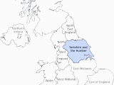 Map Of north Yorkshire England Yorkshire and the Humber 6 Meps Meps Elections
