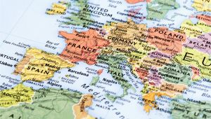 Map Of northern Europe Countries and Capitals northern Europe Cruise Maps