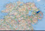 Map Of northern Ireland Cities Ireland Map Stock Photos Ireland Map Stock Images Alamy
