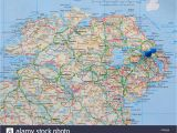 Map Of northern Ireland Counties Ireland Map Stock Photos Ireland Map Stock Images Alamy