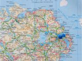 Map Of northern Ireland Roads Ireland Map Stock Photos Ireland Map Stock Images Alamy