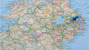 Map Of northern Ireland Roads Ireland Map Stock Photos Ireland Map Stock Images Alamy
