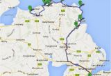 Map Of northern Ireland tourist attractions Causeway Coastal Route the World S Prettiest Drive Bruised
