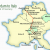 Map Of northern Italy Switzerland and Austria Amsterdam to northern Italy Suggested Itinerary