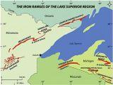 Map Of northern Minnesota Gunflint Range Wikipedia