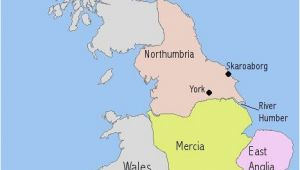 Map Of northumbria England A Map I Drew to Illsutrate the Make Up Of Anglo Saxon England In