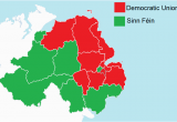 Map Of Nothern Ireland File northern Ireland assembly Election Results by