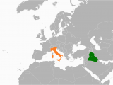 Map Of Nothern Italy Iraq Italy Relations Wikipedia