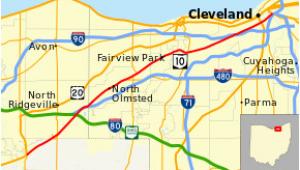 Map Of Ohio Turnpike Ohio Turnpike Revolvy
