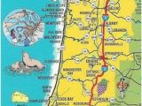 Map Of oregon Coast Beaches Simple oregon Coast Map with towns and Cities oregon Coast In