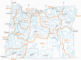 Map Of oregon Rivers and Lakes List Of Rivers Of oregon Wikipedia