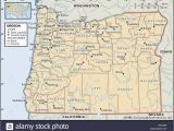Map Of oregon Trail 1850 Map Pacific northwest Stockfotos Map Pacific northwest Bilder Alamy
