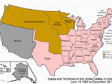 Map Of oregon Trail 1850 Outline Of oregon Territorial Evolution Wikipedia