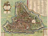Map Of Padova Italy Old Antique Map Of Padova by Blaeu Mortier Sanderus Antique