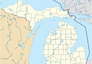 Map Of Paradise Michigan Tahquamenon Falls Revolvy