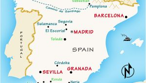 Map Of Paradores In northern Spain Spain Travel Guide by Rick Steves