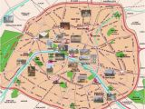 Map Of Paris France Landmarks Contemporary and Historical Maps Of Paris France