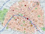 Map Of Paris France Landmarks Map Of Paris tourist attractions Sightseeing tourist tour