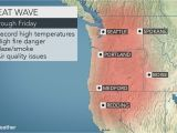 Map Of Pendleton oregon northwestern Us Heat Wave to Jeopardize All Time Record Highs