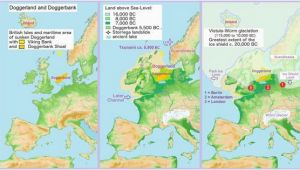 Map Of Peninsulas In Europe until the Middle Pleistocene Britain Was A Peninsula Off