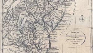 Map Of Pennsylvania and Ohio 1775 to 1779 Pennsylvania Maps