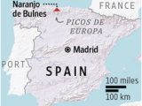 Map Of Picos De Europa Spain Hiking In Spain S Picos De Europa Mountains Wsj