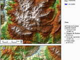 Map Of Picos De Europa Spain Location Of Moraine Landforms A Picos De Europa Cantral