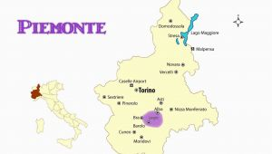 Map Of Piedmont Italy Wine Regions Map Of Piemonte Italy Cities and Travel Guide