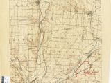Map Of Pike County Ohio Ohio Historical topographic Maps Perry Castaa Eda Map Collection