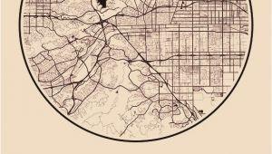 Map Of Pomona California Karte Map Pomona Kalifornien California Vereinigte Staaten