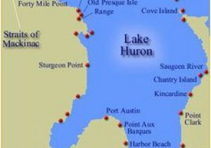 Map Of Port Austin Michigan 323 Best Lake Huron Images Lake Huron Light House Great Lakes