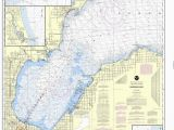 Map Of Port Austin Michigan Noaa Nautical Chart 14863 Saginaw Bay Port Austin Harbor Caseville