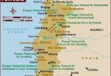 Map Of Portugal and Spain with Cities Map Of Portugal