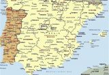 Map Of Portugal and Spain with Cities Mapa Espaa A Fera Alog In 2019 Map Of Spain Map Spain Travel