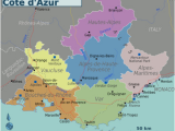 Map Of Provence France Detailed Provence Alpes Ca Te D Azur Wikitravel