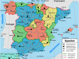Map Of Provinces In Spain Liste Der Provinzen Spaniens Wikipedia