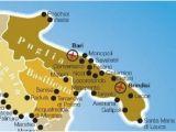 Map Of Puglia Italy Pinterest