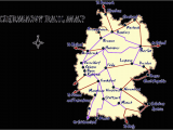 Map Of Rail Lines In Europe Germany Rail Map and Transportation Guide