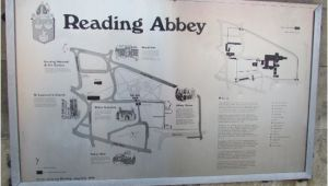 Map Of Reading England Reading Abbey Map Picture Of Terry S Reading Walkabouts Reading