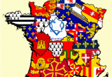 Map Of Regions In France French Regions Flag Map by Heersander Heritage France Map
