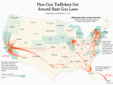 Map Of Rifle Colorado Flow Map Dataviz Geospatial Pinterest Guns Law and Gun Control
