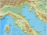 Map Of Rimini Italy Earthquake Magnitude 4 2 northern Italy 2018 November 18 12