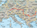 Map Of Rivers In Europe Danube Wikipedia