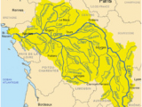 Map Of Rivers Of France Loire Wikipedia