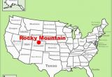 Map Of Rocky Mountain National Park Colorado Rocky Mountain National Park Maps Usa Maps Of Rocky Mountain