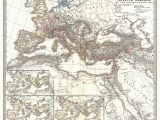 Map Of Roman Italy File 1865 Spruner Map Of the Roman Empire Under Diocletian