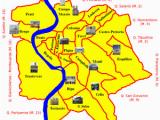 Map Of Rome Italy Neighborhoods Rioni Of Rome Wikipedia