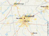 Map Of Roswell Georgia Roswell Map Www Bilderbeste Com