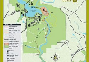 Map Of Roswell Georgia Trails at Sweetwater Creek State Park Georgia State Parks D