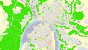 Map Of Rouen France Rouen Metro area Pdf Map France Exact Vector Street G View